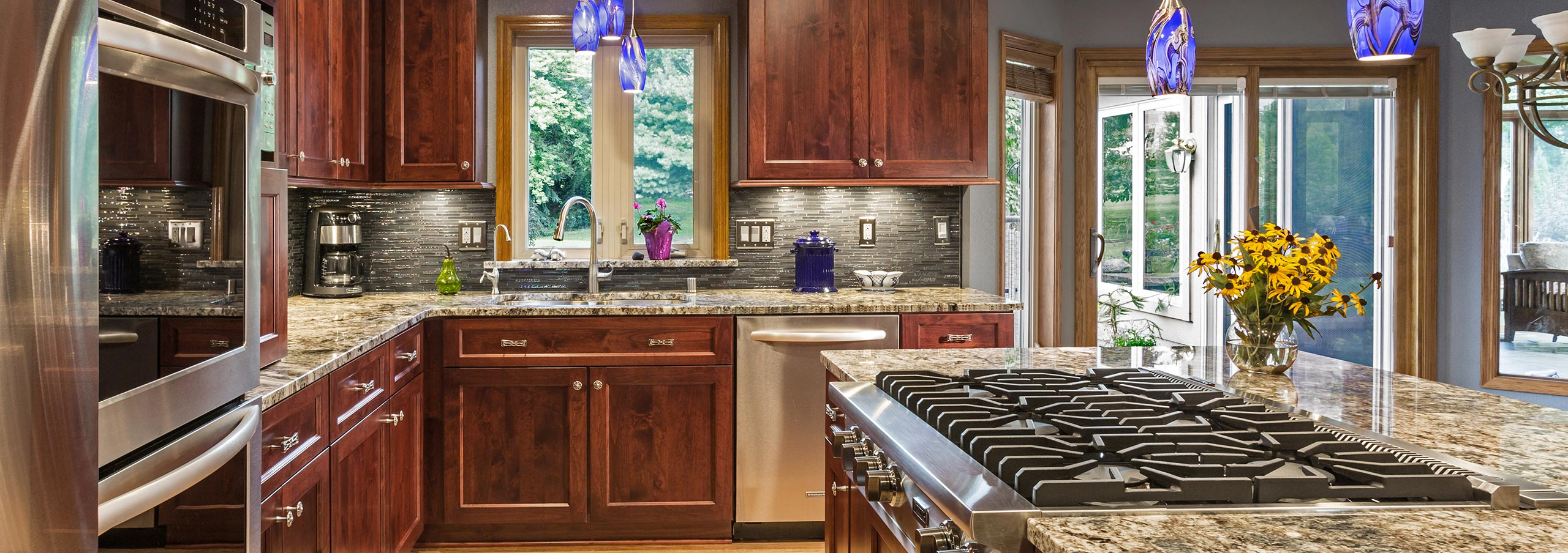 waukesha kitchen remodel with viking appliances