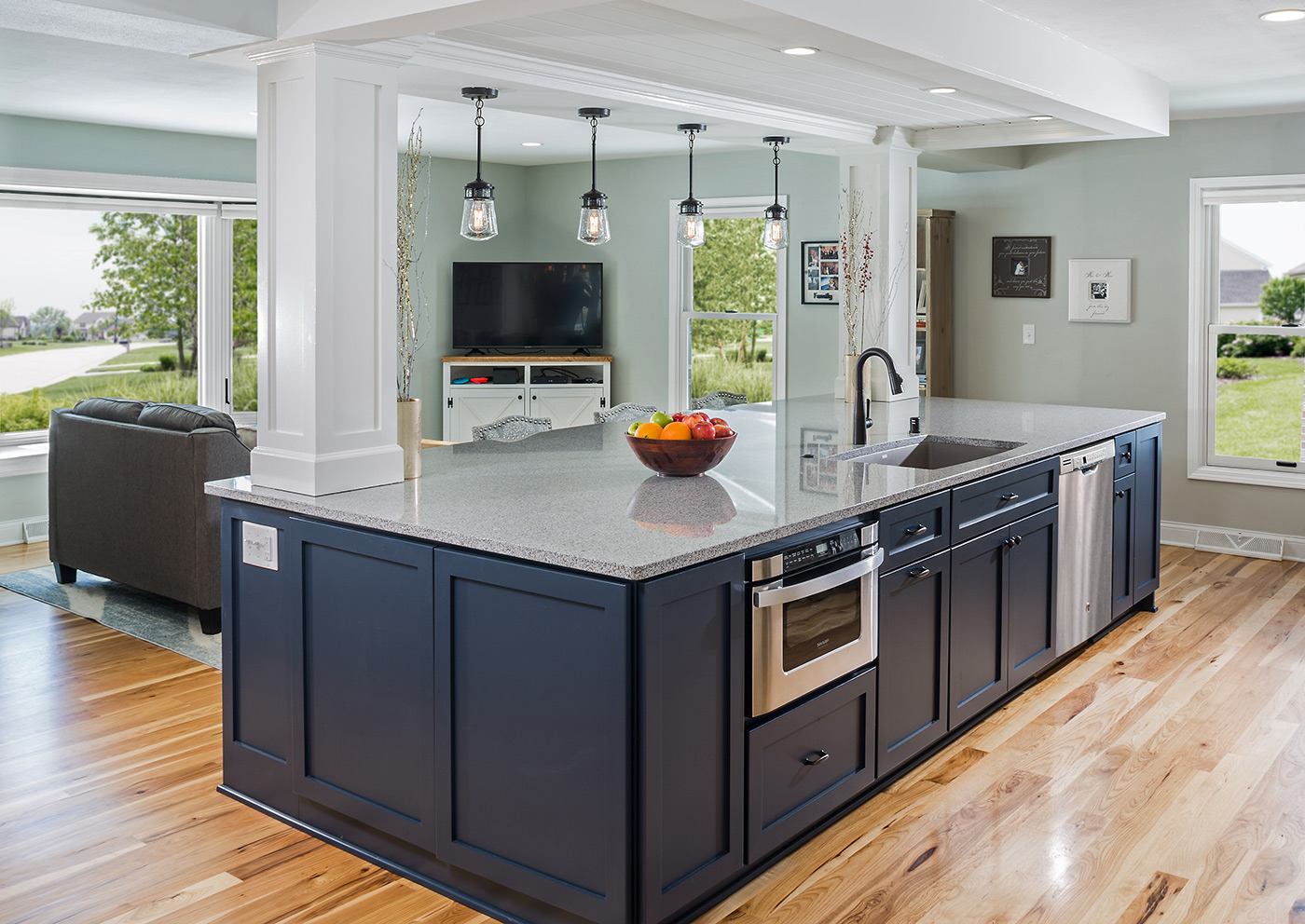 Mequon Open Concept Kitchen Remodel